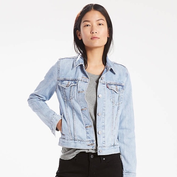 new style of 2019 official price big collection Levi's Light Blue Denim Jacket